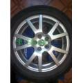 1U0601025N Spider 16 Диски колесные легкосплавные к-кт Octavia