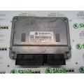 06A906033FD Блок управления Skoda Octavia A5 бензинового 1.6 двигателя SIEMENS VDO 5WP40276
