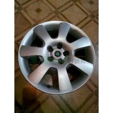 1C0601025H Диски колесные легкосплавные к-кт Skoda Octavia
